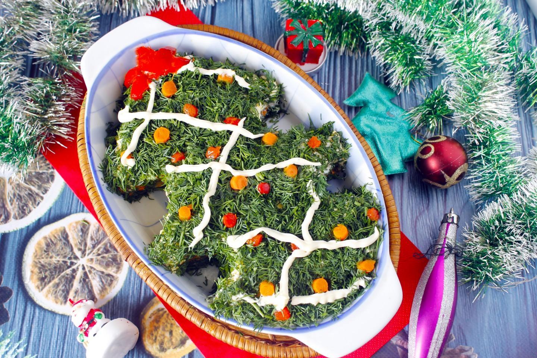 Топ 10 необычных салатов на новый 2021 год