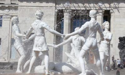 Фонтан Бармалей в Волгограде – один из памятников войны. Забвение и новая жизнь.