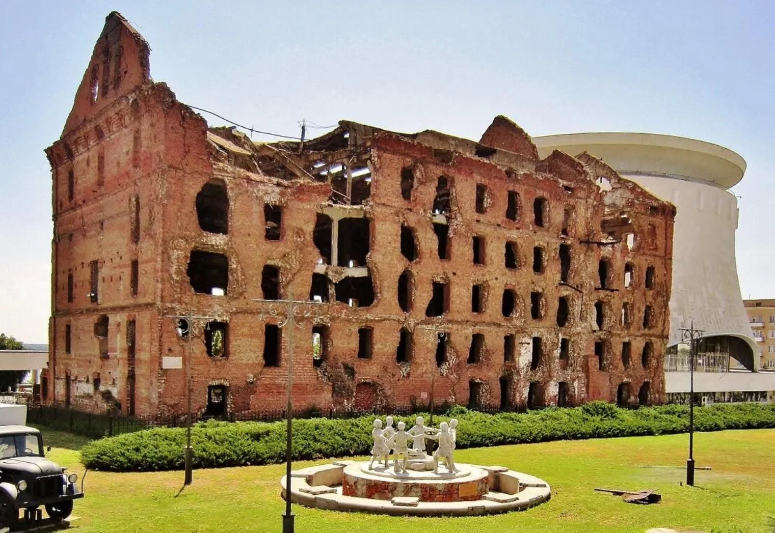 В память о кровопролитных сражениях и героических свершениях – волгоградская мельница Гергардта.