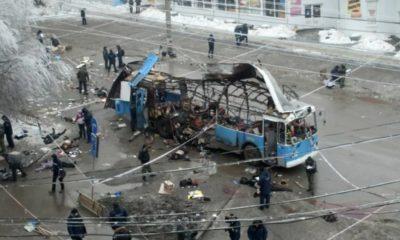 Взрыв троллейбуса в Волгограде в 2013 году - теракт унес жизни 16 человек