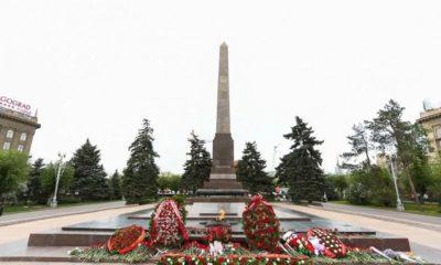 Площадь Павших Борцов в Волгограде. История и площадь сегодня.